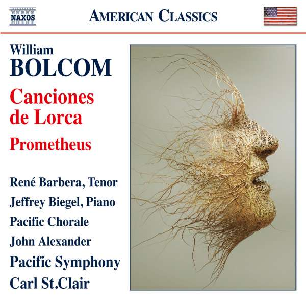 Cover image: William Bolcom: Prometheus on Naxos
